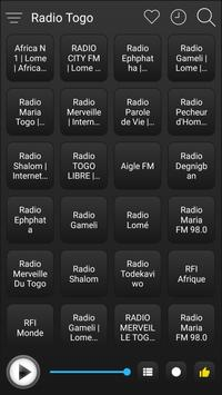 Togo Radio Stations Online - Togo FM AM Music screenshot 1