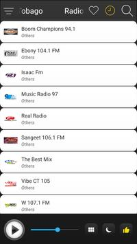 Trinidad and Tobago Radio Stations FM AM Online screenshot 2