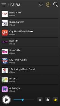 UAE Radio Stations Online - UAE FM AM Music screenshot 3