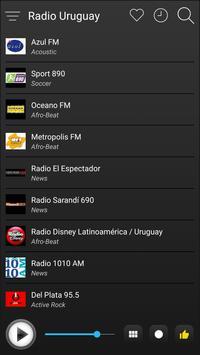 Uruguay Radio Station Online - Uruguay FM AM Music screenshot 3