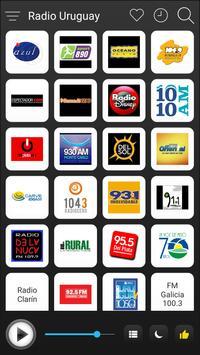 Uruguay Radio Station Online - Uruguay FM AM Music poster