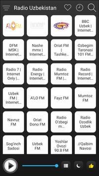 Uzbekistan Radio Stations Online - Uzbek FM AM poster