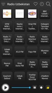 Uzbekistan Radio Stations Online - Uzbek FM AM screenshot 1