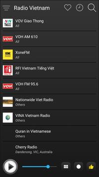 Vietnam Radio Station Online - Vietnam FM AM Music screenshot 3
