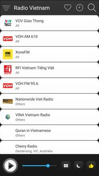 Vietnam Radio Station Online - Vietnam FM AM Music screenshot 2