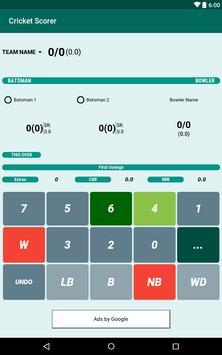 Cricket Scorer screenshot 7