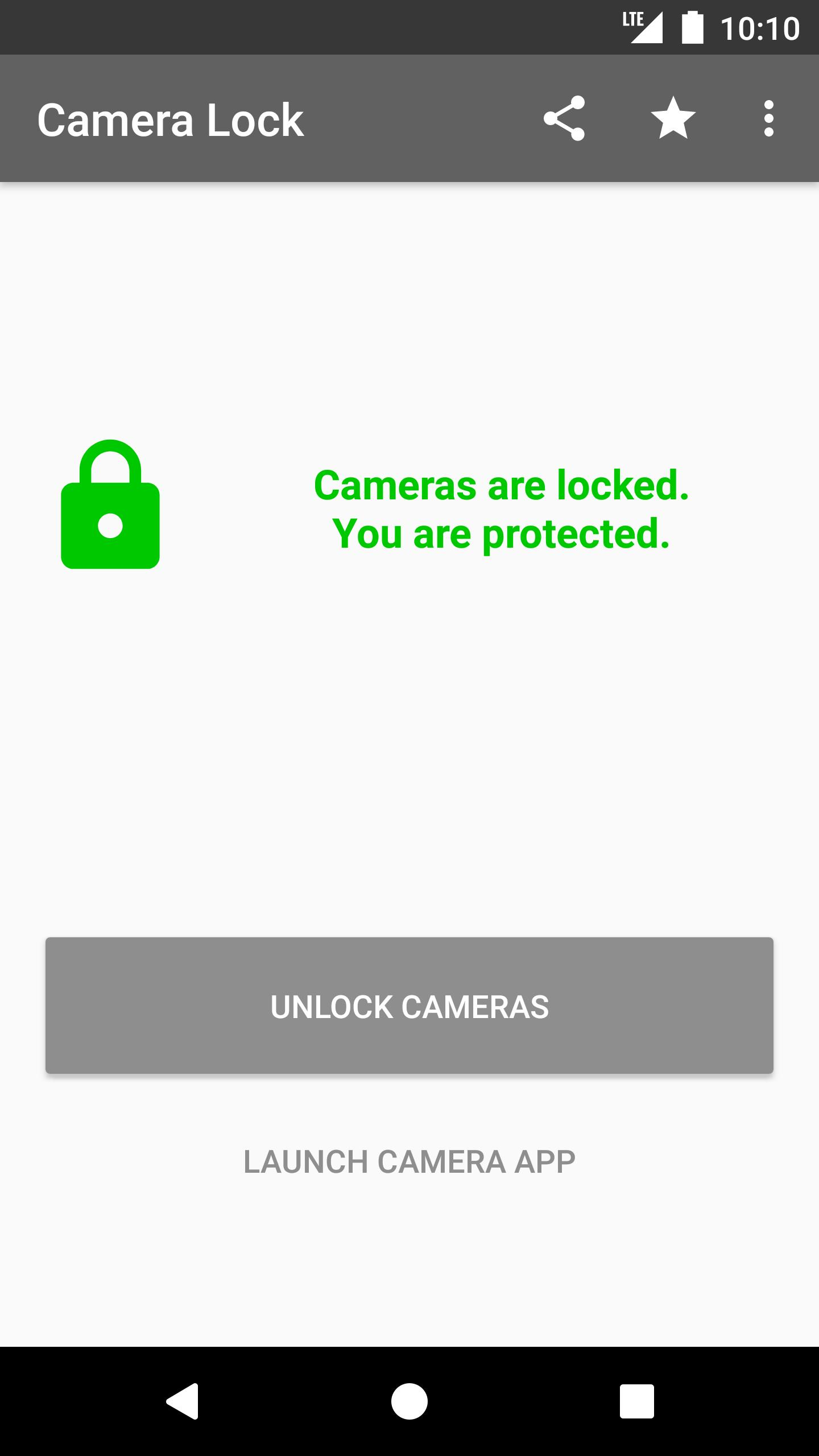 Camera Lock for Android - APK Download
