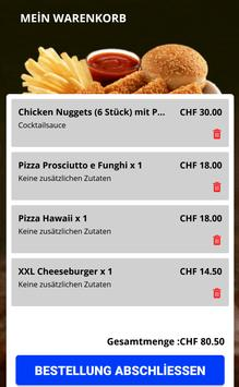 Mega Pizza Kurier Bern screenshot 3