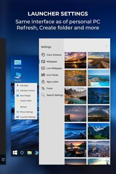 Computer Launcher Win 10 Launcher Free screenshot 4