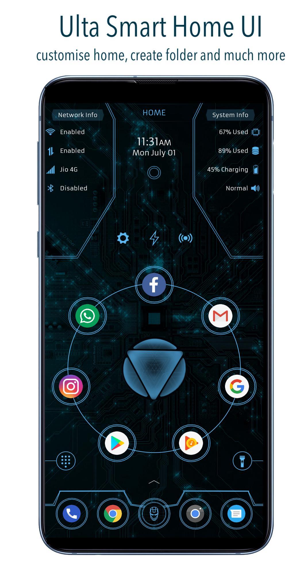 ARC Launcher® 2019: 3D Launcher & Theme | App Lock for Android - APK