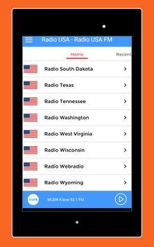 Radio USA - Radio USA FM + American Radio Stations screenshot 10