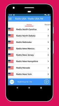 Radio USA - Radio USA FM + American Radio Stations screenshot 1