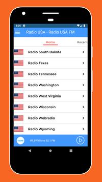 Radio USA - Radio USA FM + American Radio Stations screenshot 2