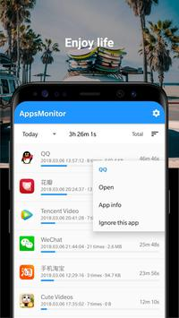 Monitry - Monitor the Apps Usage screenshot 5