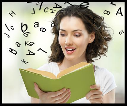 Learn how to read. Read easy and fast poster