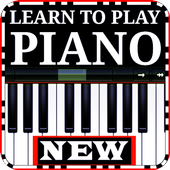 Learn to play the piano easily icon