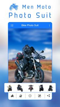 Man Moto Photo Suit poster