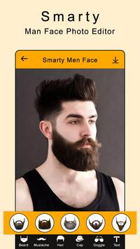 Smarty Man Face Maker : Man Mustache Photo Suit poster
