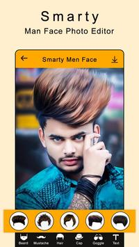 Smarty Man Face Maker : Man Mustache Photo Suit screenshot 2