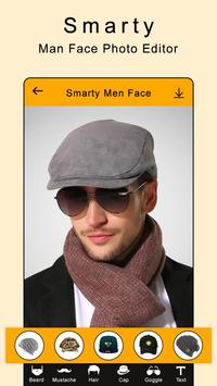 Smarty Man Face Maker : Man Mustache Photo Suit screenshot 3