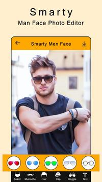 Smarty Man Face Maker : Man Mustache Photo Suit screenshot 4