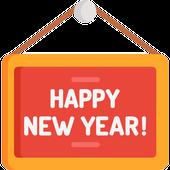 Say Happy New Year icon