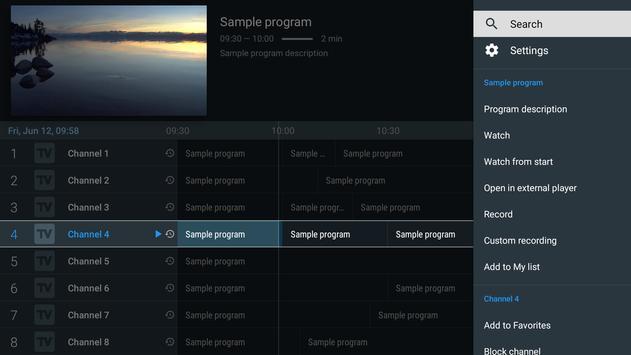 TiviMate capture d'écran 1