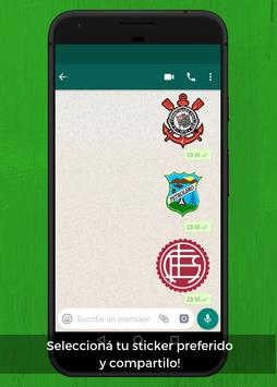 WhatsApp Stickers Libertadores Football Teams screenshot 4