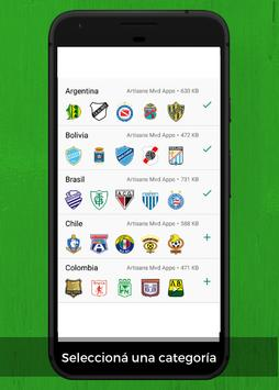 WhatsApp Stickers Libertadores Football Teams screenshot 1