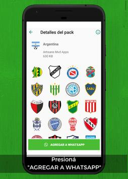 WhatsApp Stickers Libertadores Football Teams screenshot 2