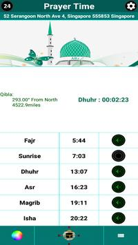 Islamic Calendar /Prayer Time /Widget /Qibla /Azan screenshot 10