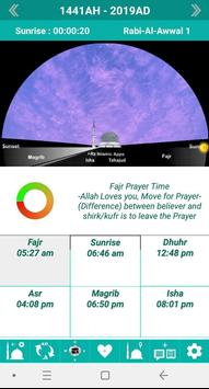 Islamic Calendar /Prayer Time /Widget /Qibla /Azan screenshot 1