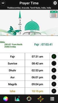 MUIS based Prayer Time & Qibla - Singapore screenshot 5