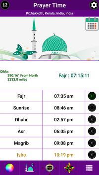 MUIS based Prayer Time & Qibla - Singapore screenshot 6