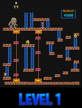 arcade monkey kong poster
