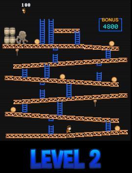 arcade monkey kong screenshot 1