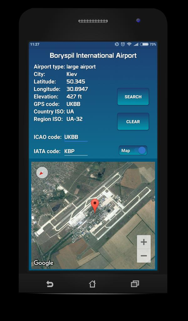 Airports database (ICAO/IATA) for Android - APK Download