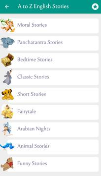 500+ Famous English Stories screenshot 4