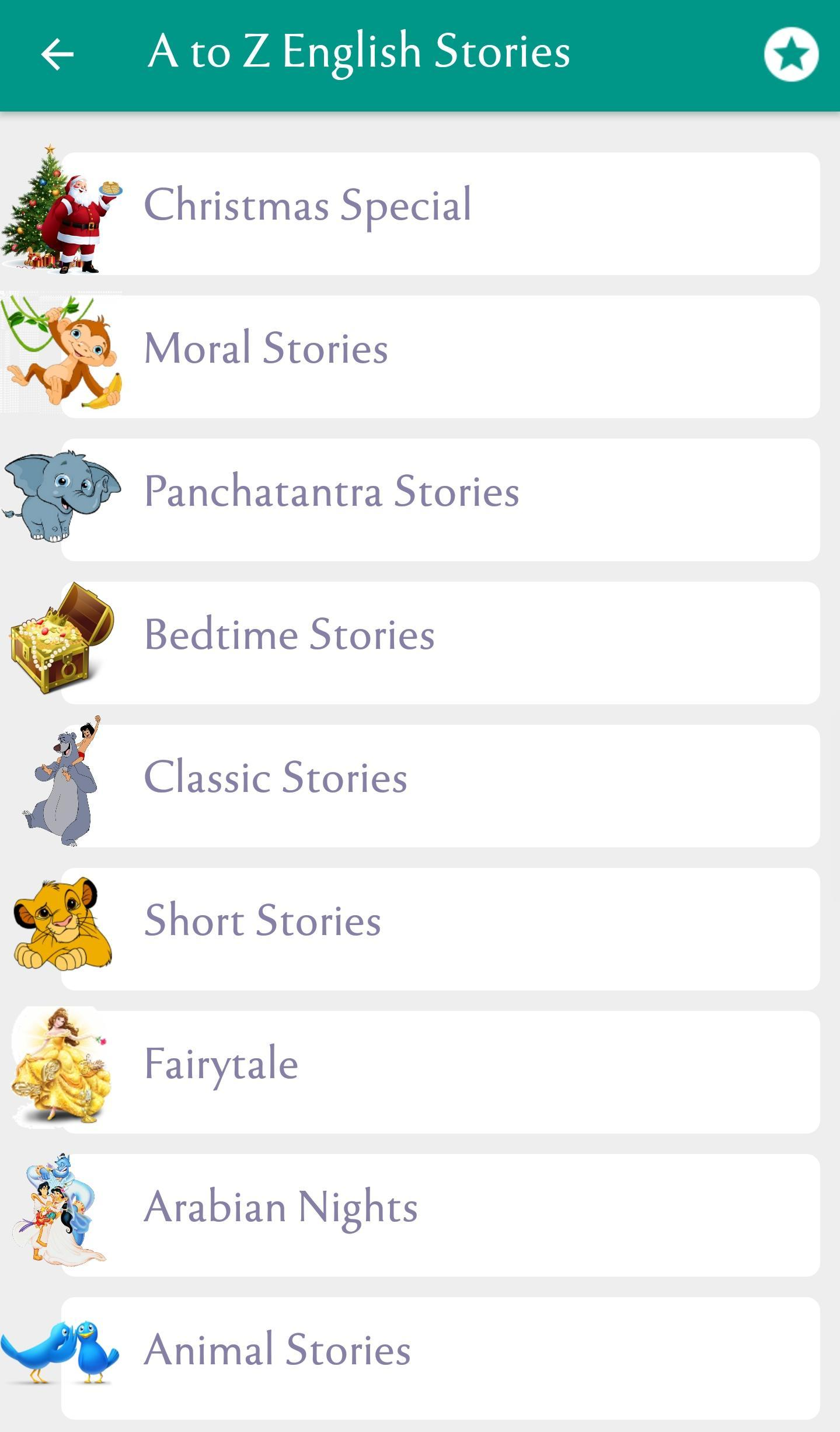 500+ Famous English Stories cho Android - Tải về APK