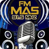FM Mas 91.5 Mhz - Radio Studio Dance icon