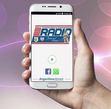 Radio Online - Municipalidad Monte Quemado screenshot 1