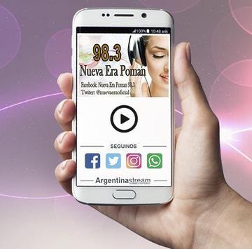 Radio Nueva Era Poman Fm 98.3 Mhz screenshot 1