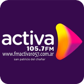 Radio Activa FM 105.7 San Patricio del Chañar NQN أيقونة