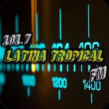 Radio Latina Tropical FM 101.7 Mhz screenshot 1