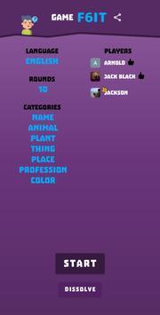 Name Place Animal Thing screenshot 3