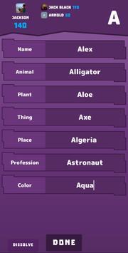 Name Place Animal Thing screenshot 4