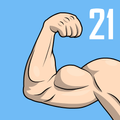 Arm & Back workout at home -  21 Day Challenge