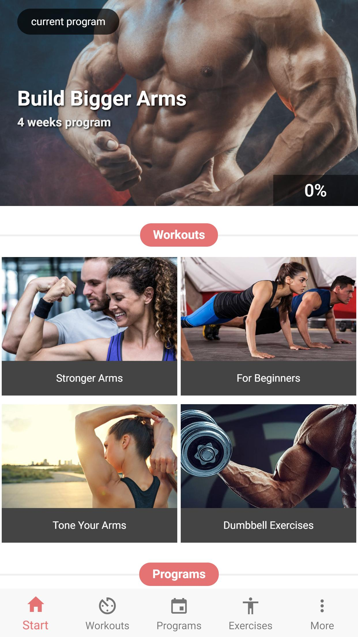 Arm Workout for Android - APK Download