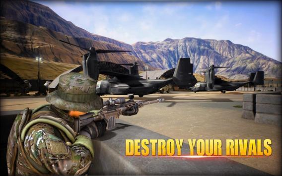 City Sniper Gun Shooter - Commando War screenshot 10
