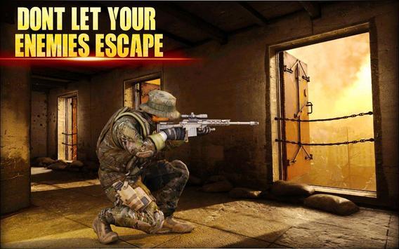 City Sniper Gun Shooter - Commando War screenshot 12